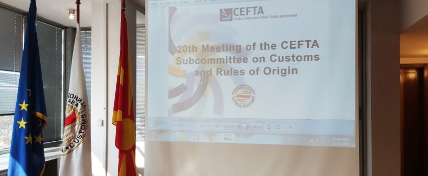MEETING OF THE CEFTA SUB-COMMITTEE ON CUSTOMS AND RULES OF ORIGIN