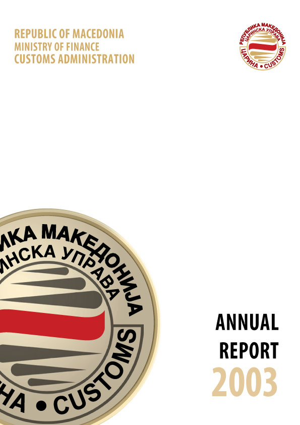 Annual Report 2003 (982 KB), 30.12.2011